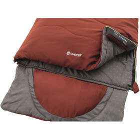 Outwell Contour Sac de couchage, ochre red